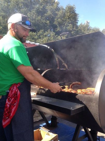 Cajun Commander Catering BBQ for 200 students and parents participating in the Louisiana Showcase of...