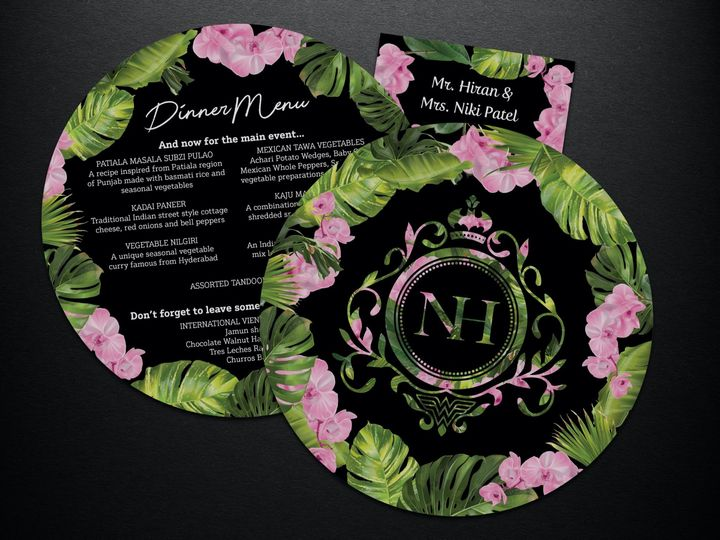 Tmx Hn Menu4 51 1945807 158318052631974 Edison, NJ wedding invitation