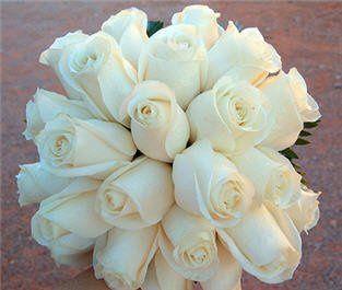 whiterosesbouquet
