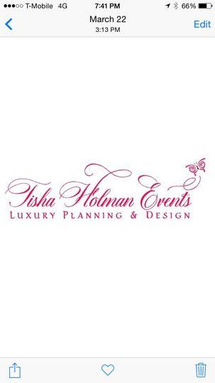 Tisha Holman Events