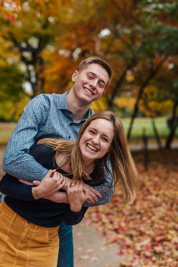 Autumn hugs