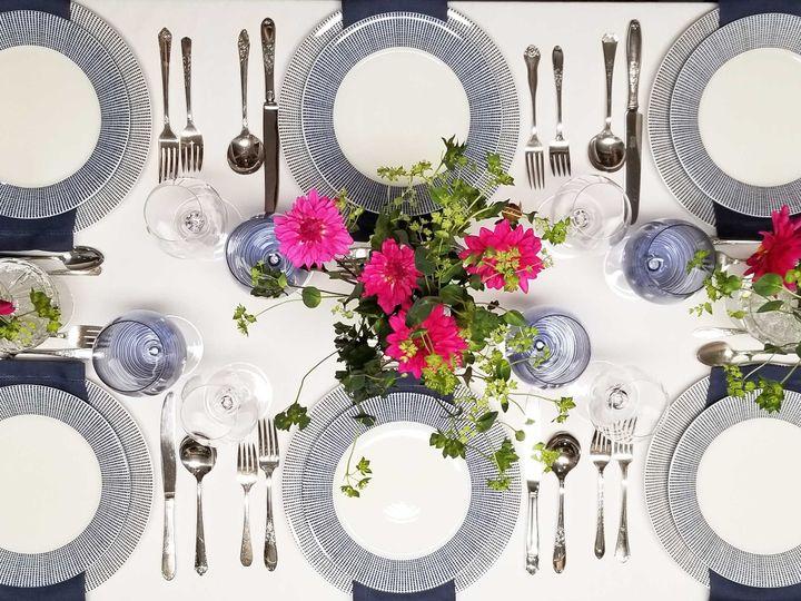 Tmx Pink And Blue Dot 51 1028807 Northborough, Massachusetts wedding rental