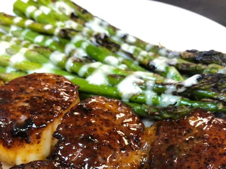 Tmx Scallops Asparagus 51 748807 1573064904 Wake Forest, NC wedding catering