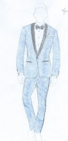 Tux Drawing for Client