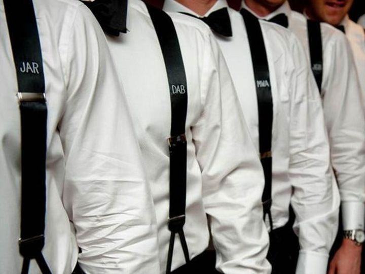 Tmx Groomsmen Embroidered Monogrammed Suspenders Example 51 1068807 157434989035731 Norwalk, CT wedding dress