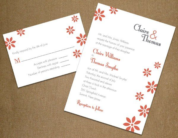 Tmx 1327628109436 Orangeflowers Union wedding invitation