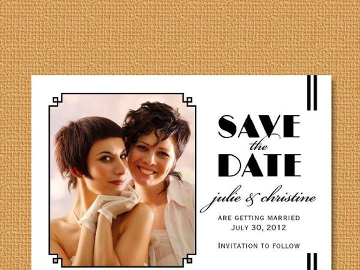 Tmx 1327628118374 LGBTsavephoto Union wedding invitation