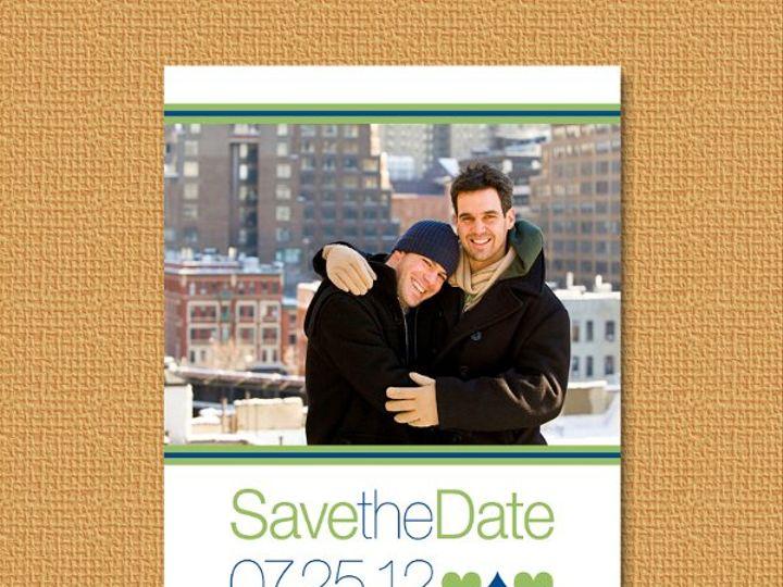 Tmx 1327628125332 LGBTsavehearts Union wedding invitation