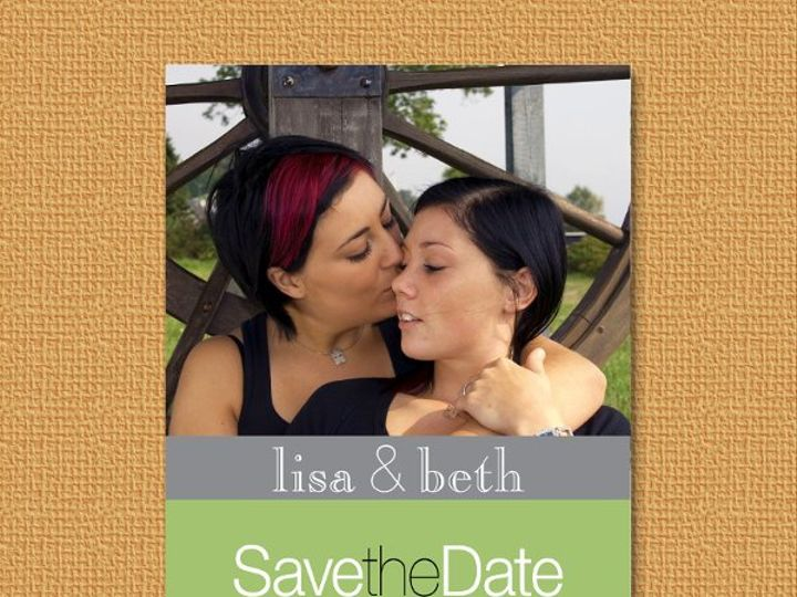 Tmx 1327628128903 LGBTsavegreen Union wedding invitation