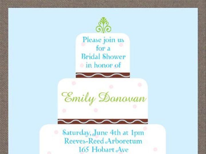 Tmx 1327628133461 Cake Union wedding invitation
