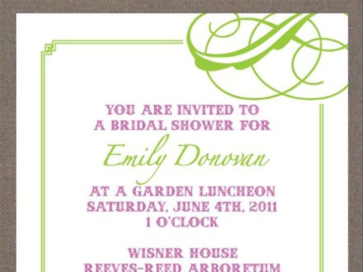 Tmx 1327628140315 Garden Union wedding invitation
