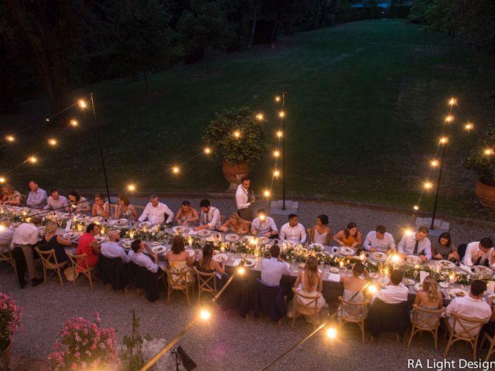 Villa Boccella Bulb Lights