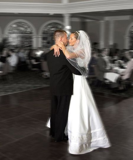 First dance at the Safety Harbor Spa.
