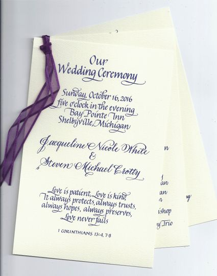 622b72bba374f1d1 Wedding Wire website wedding program