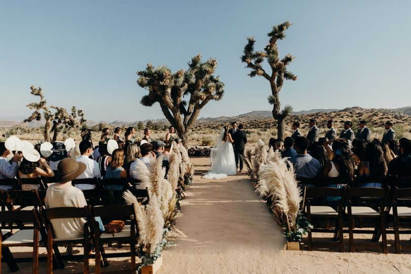 Wedding at RimRock Ranch