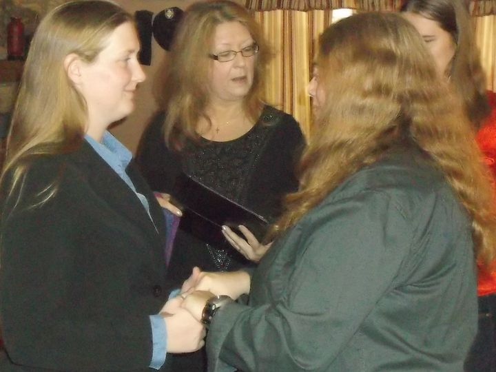 Tmx 1447941626883 Erica And Anna 1 Louisburg, North Carolina wedding officiant