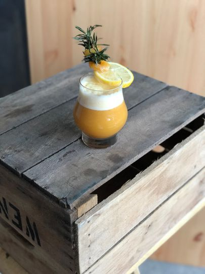 """""""the great pumpkin"""" cocktail"""