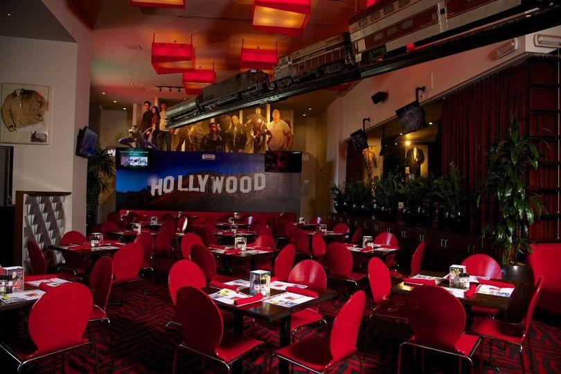 Hollywood Glam Reception Venue
