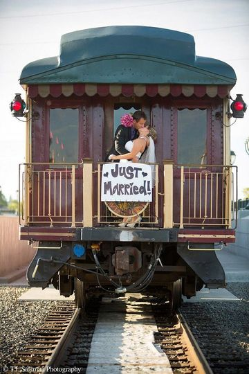 napa valley wine train private event wedding train