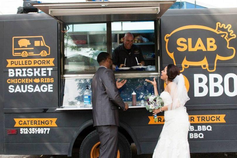 Austin Food Truck Wedding