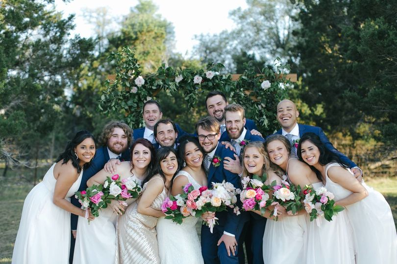 Hill Country Outdoor Wedding