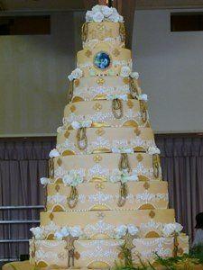 9-Tier Cake
