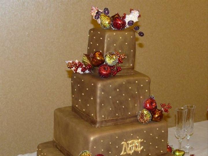 Tmx 1261258018890 ChocoNicole West Linn, OR wedding cake