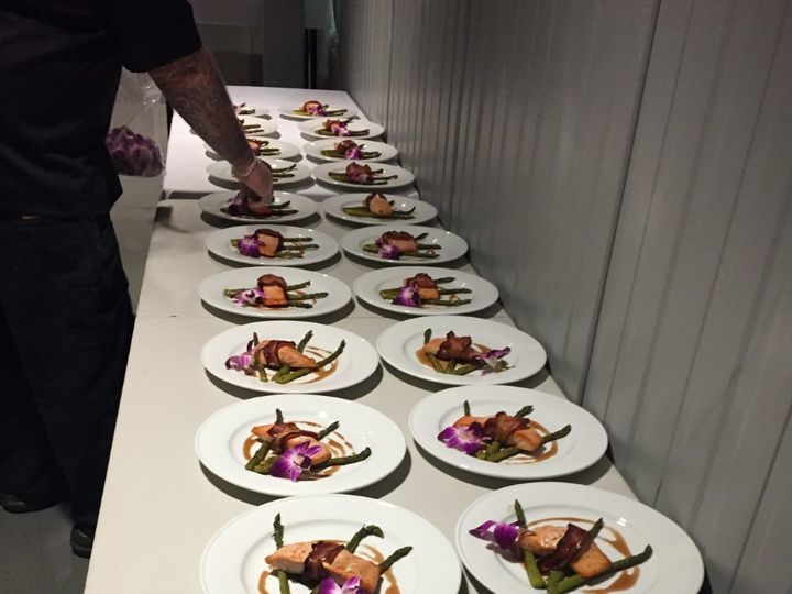 Tmx 1513691331691 Salmon At Woodchuck Middlebury, VT wedding catering