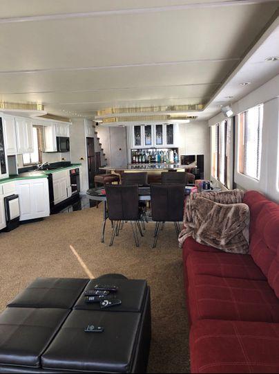 Poker Area/Kitchen