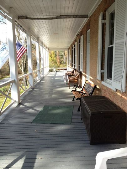 Ironmaster's Mansion's front porch
