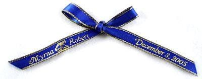 wedding ribbon, personalized ribbon, printed ribbons, custom ribbons, wedding ribbons