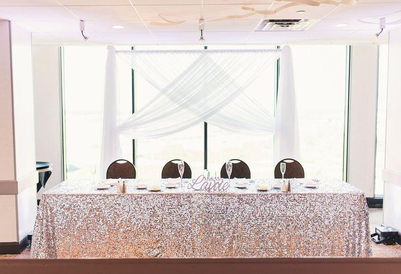 Penthouse Ballroom-head table