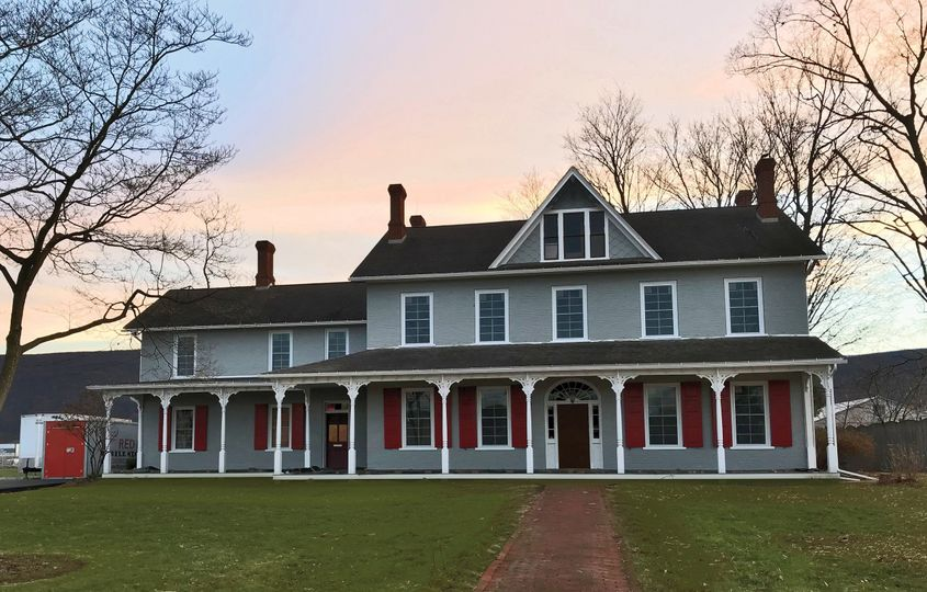 Governor Shulze Mansion - our new location and wedding & event venue