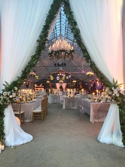 Santa barbara greenhouse wedding