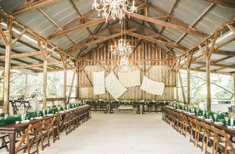 Santa barbara barn wedding