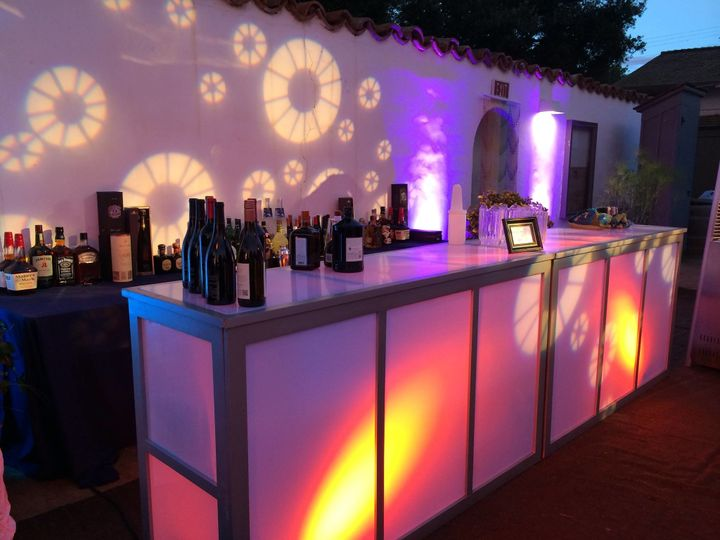 Tmx 1506454719988 Translucent Lighted Bar Ventura, CA wedding rental