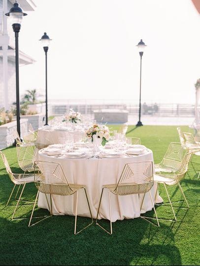 Oceanfront Lawn Reception