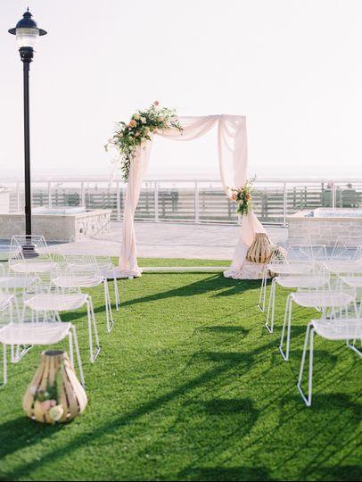 Oceanfront Lawn Ceremony