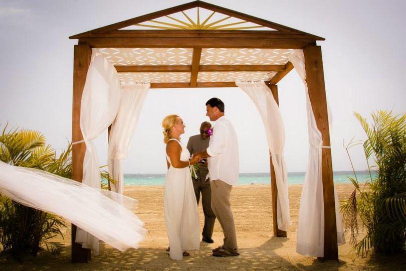 Wedding cabana