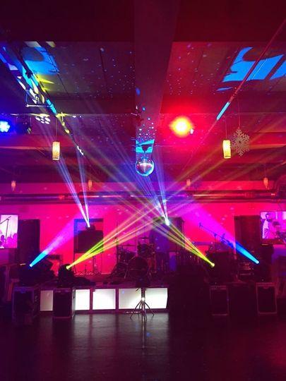 Stage and Dance Floor Lighting