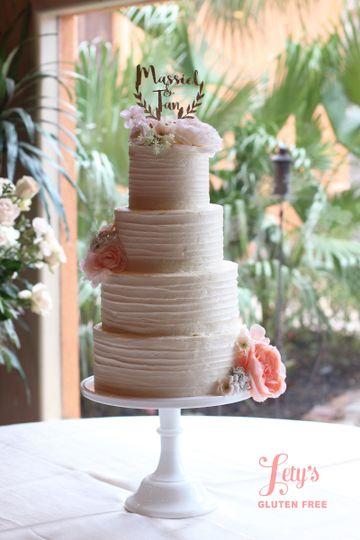 Letys Gluten Free Wedding Cake Houston TX WeddingWire
