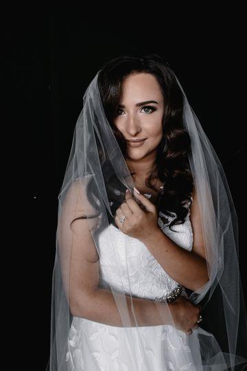 Gorgeous bride Nika