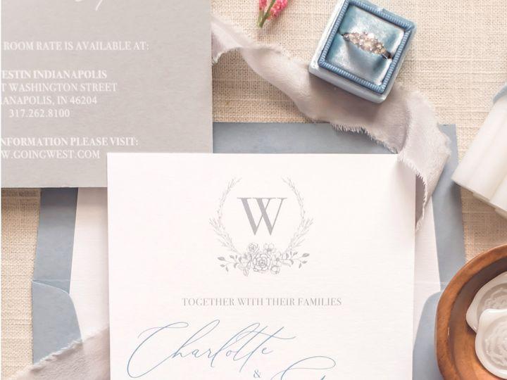 Tmx 1 51 988907 157833393923175 Indianapolis, IN wedding invitation