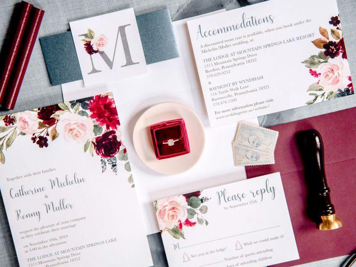 Tmx 5 51 988907 157833386776103 Indianapolis, IN wedding invitation