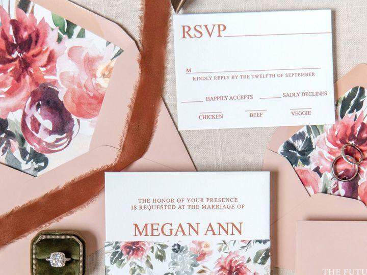 Tmx Floral Letterpress 22 51 988907 160426199013726 Indianapolis, IN wedding invitation