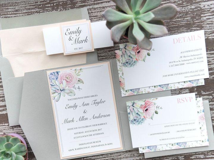 Tmx Invite 51 988907 157833401618127 Indianapolis, IN wedding invitation