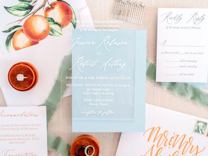 Tmx Oranges 13 51 988907 158802092633451 Indianapolis, IN wedding invitation