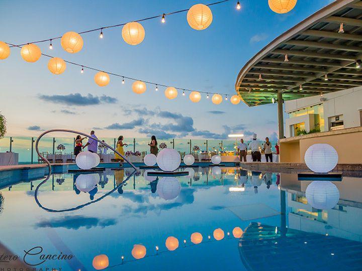 Tmx 1500405921380 Stylish Cancun Beach Palace Weddings Sky Terrace R Rockville, MD wedding planner