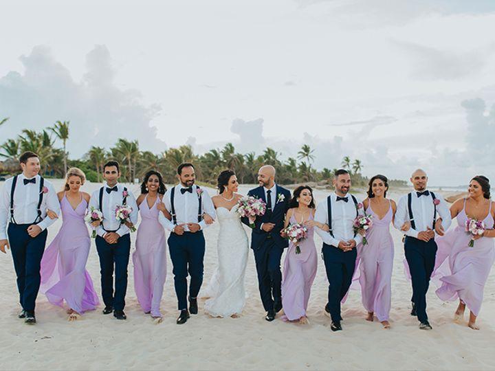 Tmx Weddings Romantique Punta Cana Wedding Bridal Party 51 109907 Rockville, MD wedding planner