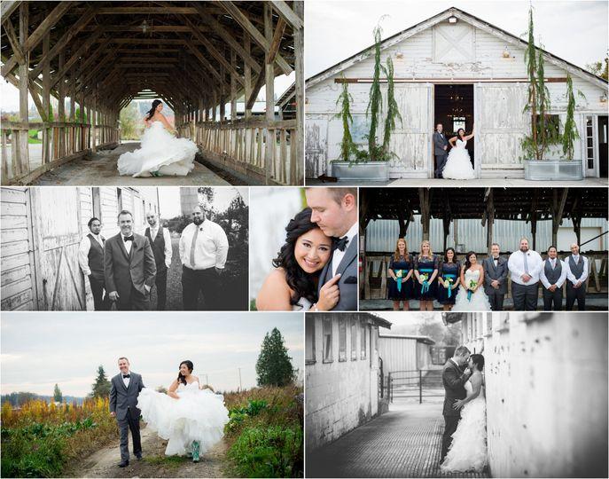11x14 barn brides collage5